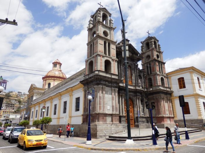 El Jordán ist Otavalos größter Kirchenbau