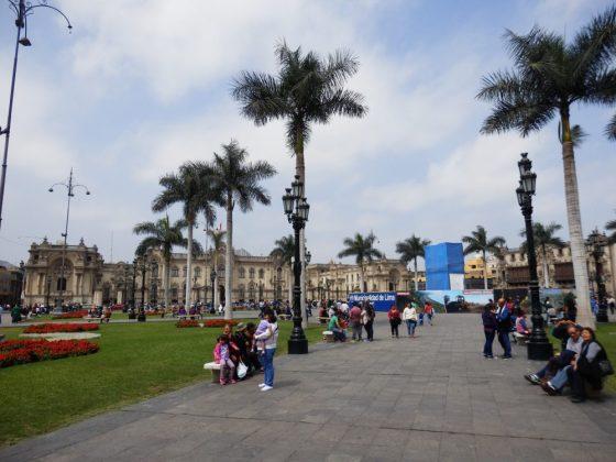 Plaza de Armas - Herzstück der peruanischen Hauptstadt