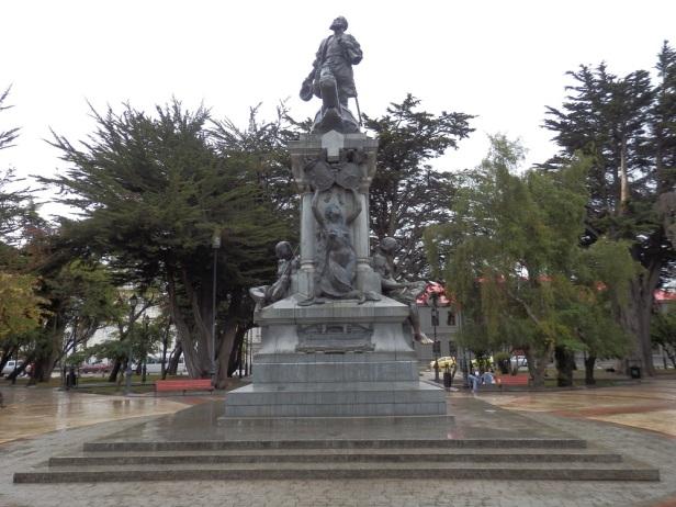 Magellan-Denkmal auf der Plaza von Punta Arenas