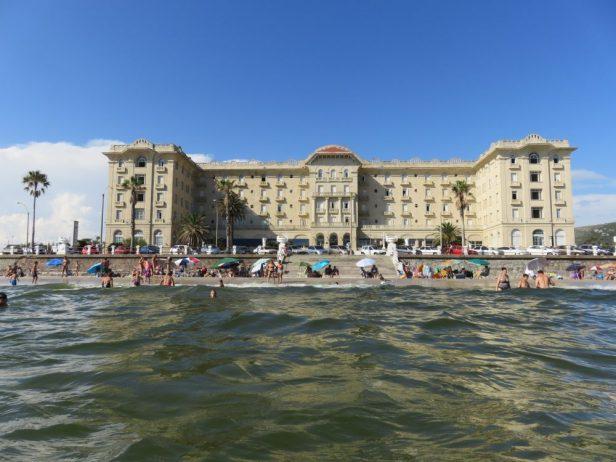 Das Hotel Argentino, die Keimzelle von Piriápolis